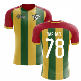 2019-2020 Ghana Home Concept Football Shirt (Raphael 78)