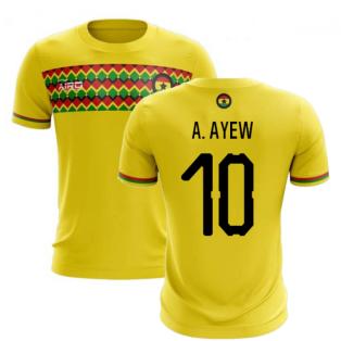 2019-2020 Ghana Third Concept Football Shirt (A. Ayew 10)