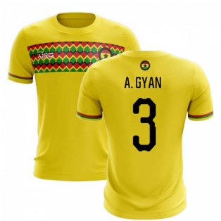 2019-2020 Ghana Third Concept Football Shirt (A. Gyan 3)