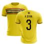2020-2021 Ghana Third Concept Football Shirt (A. Gyan 3)