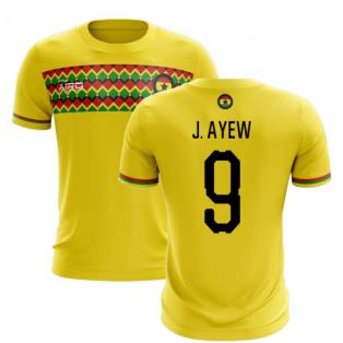 2019-2020 Ghana Third Concept Football Shirt (J. Ayew 9)