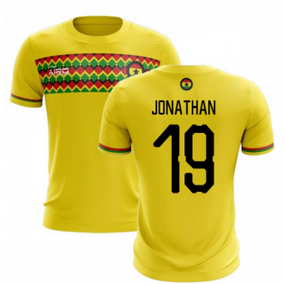 2020-2021 Ghana Third Concept Football Shirt (Jonathan 19)
