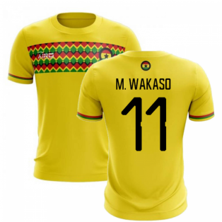 2019-2020 Ghana Third Concept Football Shirt (M. Wakaso 11)