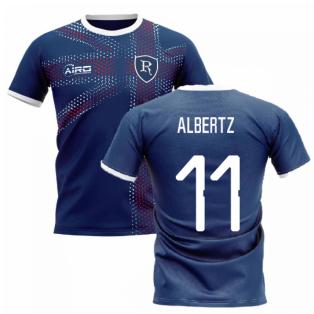 2020-2021 Glasgow Home Concept Football Shirt (ALBERTZ 11)