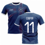 2020-2021 Glasgow Home Concept Football Shirt (COOPER 11)