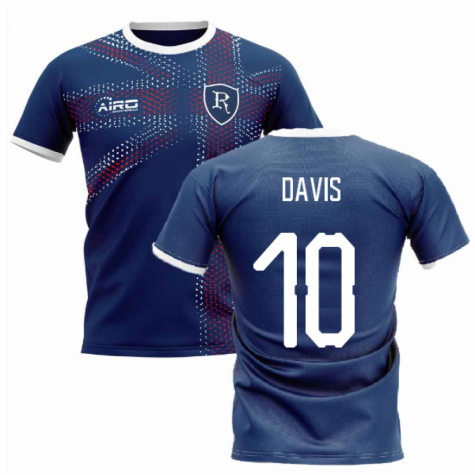 2019-2020 Glasgow Home Concept Football Shirt (DAVIS 10)