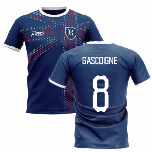 2020-2021 Glasgow Home Concept Football Shirt (GASCOIGNE 8)