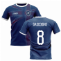 2019-2020 Glasgow Home Concept Football Shirt (GASCOIGNE 8)