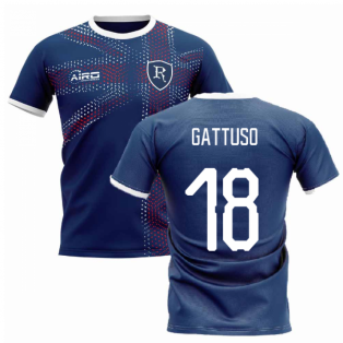 2020-2021 Glasgow Home Concept Football Shirt (GATTUSO 18)