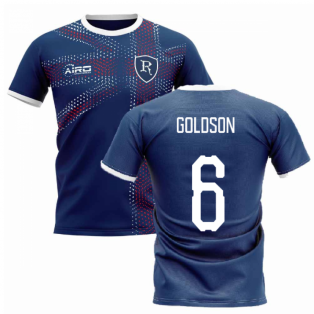 2020-2021 Glasgow Home Concept Football Shirt (GOLDSON 6)