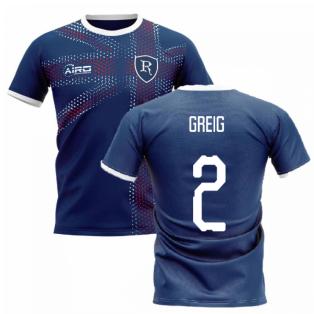 2020-2021 Glasgow Home Concept Football Shirt (GREIG 2)