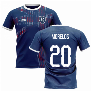 2019-2020 Glasgow Home Concept Football Shirt (MORELOS 20)