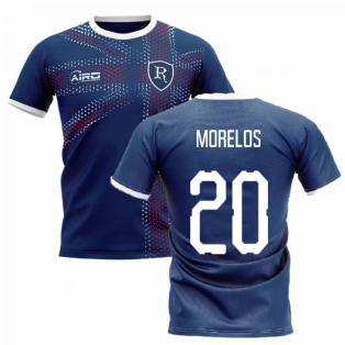 2020-2021 Glasgow Home Concept Football Shirt (MORELOS 20)