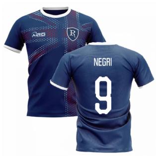 2020-2021 Glasgow Home Concept Football Shirt (NEGRI 9)