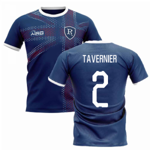 2019-2020 Glasgow Home Concept Football Shirt (TAVERNIER 2)