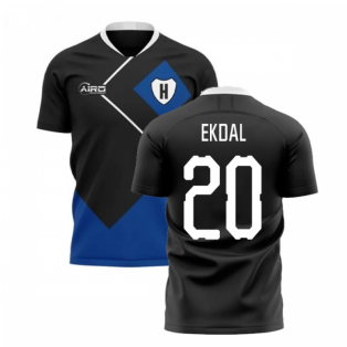 2020-2021 Hamburg Away Concept Football Shirt (Ekdal 20)