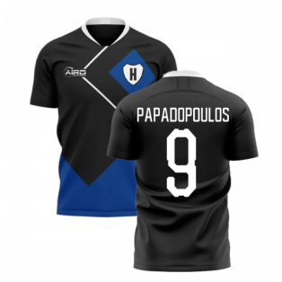 2020-2021 Hamburg Away Concept Football Shirt (Papadopoulos 9)