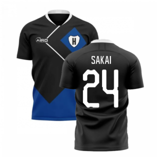 2020-2021 Hamburg Away Concept Football Shirt (Sakai 24)