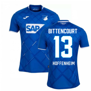 2019-2020 Hoffenheim Joma Home Football Shirt (Kids) (BITTENCOURT 13)