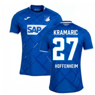 2019-2020 Hoffenheim Joma Home Football Shirt (Kids) (KRAMARIC 27)