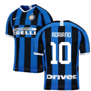 2019-2020 Inter Milan Authentic Vapor Match Home Nike Shirt (ADRIANO 10)