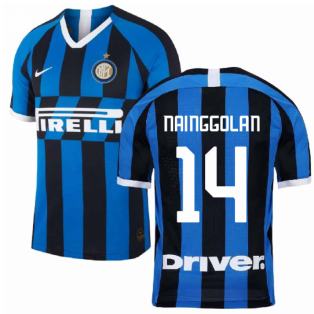 2019-2020 Inter Milan Home Nike Football Shirt (NAINGGOLAN 14)