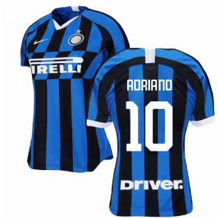 2019-2020 Inter Milan Home Nike Womens Football Shirt (ADRIANO 10)