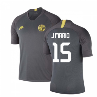 2019-2020 Inter Milan Nike Training Shirt (Grey) (J MARIO 15)
