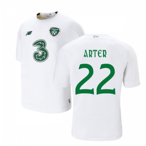 2019-2020 Ireland Away New Balance Football Shirt (Kids) (Arter 22)