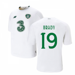 2019-2020 Ireland Away New Balance Football Shirt (Kids) (Brady 19)
