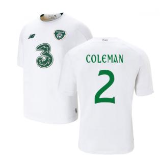 2019-2020 Ireland Away New Balance Football Shirt (Kids) (Coleman 2)