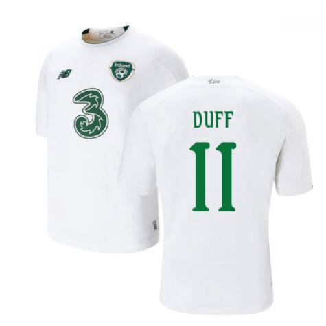 2019-2020 Ireland Away New Balance Football Shirt (Kids) (Duff 11)