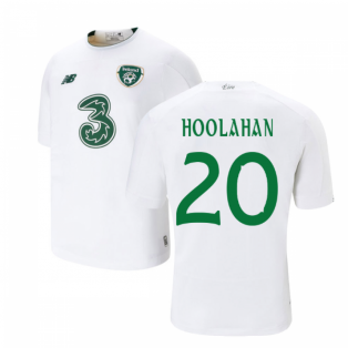 2019-2020 Ireland Away New Balance Football Shirt (Kids) (Hoolahan 20)