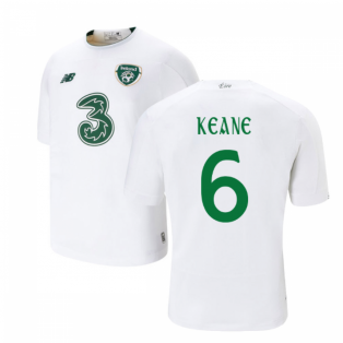 2019-2020 Ireland Away New Balance Football Shirt (Kids) (Keane 6)