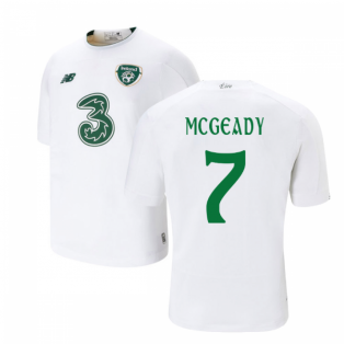 2019-2020 Ireland Away New Balance Football Shirt (Kids) (McGeady 7)