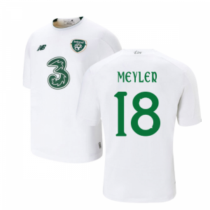 2019-2020 Ireland Away New Balance Football Shirt (Kids) (Meyler 18)