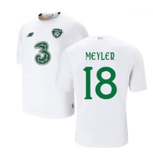 2019-2020 Ireland Away New Balance Football Shirt (Kids) (Meyler 18)