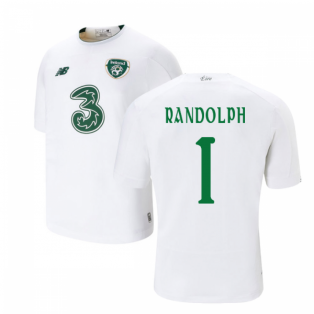 2019-2020 Ireland Away New Balance Football Shirt (Kids) (Randolph 1)