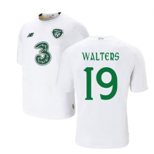 2019-2020 Ireland Away New Balance Football Shirt (Kids) (Walters 19)