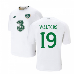 2019-2020 Ireland Away New Balance Football Shirt (Kids) (Walters 19)