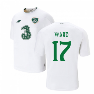 2019-2020 Ireland Away New Balance Football Shirt (Kids) (Ward 17)