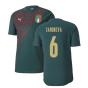 2019-2020 Italy Puma Stadium Jersey (Pine) (Candreva 6)