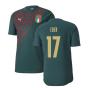 2019-2020 Italy Puma Stadium Jersey (Pine) (Eder 17)
