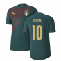 2019-2020 Italy Puma Stadium Jersey (Pine) (Insigne 10)