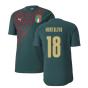 2019-2020 Italy Puma Stadium Jersey (Pine) (Montolivo 18)