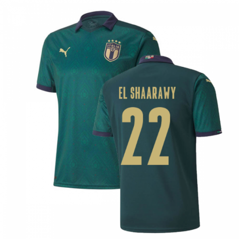2019-2020 Italy Renaissance Third Puma Shirt (Kids) (El Shaarawy 22)