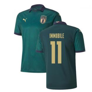2019-2020 Italy Renaissance Third Puma Shirt (Kids) (Immobile 11)