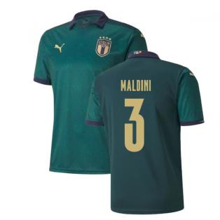 2019-2020 Italy Renaissance Third Puma Shirt (Kids) (Maldini 3)