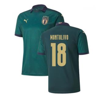 2019-2020 Italy Renaissance Third Puma Shirt (Kids) (Montolivo 18)