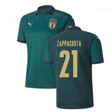 2019-2020 Italy Renaissance Third Puma Shirt (Kids) (Zappacosta 21)